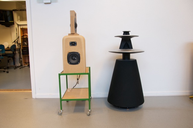 "The ""Shark Fin"" loudspeaker - an experiment attempting to independently tune the power response without changing the on-axis frequency response."